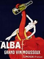 """""Alba"""" Grand Vin Mousseux, ca. 1928 Fine Art Print"
