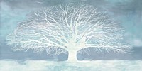Aquamarine Tree Fine Art Print