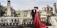 Lovers in Paris Fine Art Print