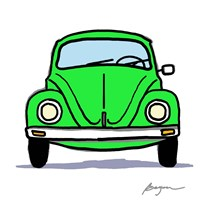 Green Bug Fine Art Print