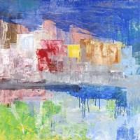Villaggio sul Lago Fine Art Print