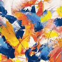 Waves Crashing in the Summer Sky II Fine Art Print