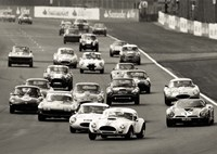 Silverstone Classic Race Fine Art Print