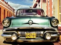 Vintage American Car in Habana, Cuba Fine Art Print