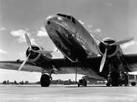 1940s Passenger Airplane Fine Art Print