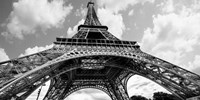 The Eiffel Tower in Spring Fine Art Print