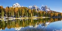 Lago Antorno and Misurina, Dolomites, Italy Fine Art Print