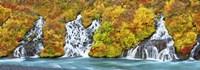 Hraunfossar Waterfall, Iceland Fine Art Print