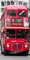 Double-Decker Bus, London Fine Art Print
