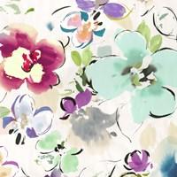 Floral Funk II Framed Print