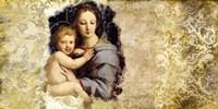 Madonna del Candelabro (after Raffaello) Fine Art Print