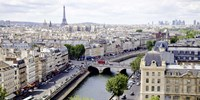 View of Paris Fine Art Print