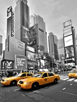 Times Square Traffic Fine Art Print