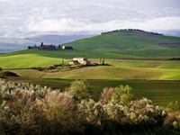 Tuscan Countryside Fine Art Print