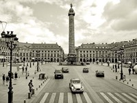 Place Vendome, Paris Fine Art Print