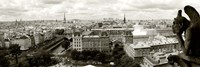 Paris Panorama Fine Art Print