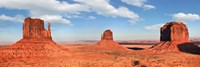 View to the Monument Valley, Arizona Fine Art Print