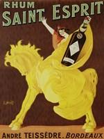 Rhum Saint Esprit, 1919 Fine Art Print
