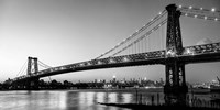 Queensboro Bridge and Manhattan from Brooklyn, NYC Fine Art Print