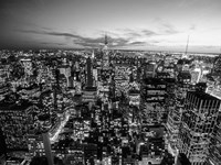 Manhattan Skyline with the Empire State Building, NYC Fine Art Print