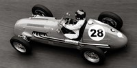 Historical Race Car at Grand Prix de Monaco 1 Fine Art Print