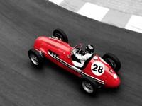 Historical Race Car at Grand Prix de Monaco 4 Fine Art Print