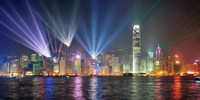 Symphony of Lights, Hong Kong Fine Art Print