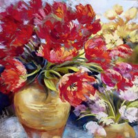 Tulip Firework Fine Art Print