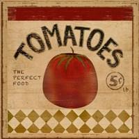 Tomatoes II Framed Print