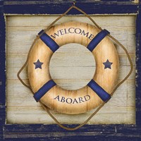 Welcome Aboard Fine Art Print