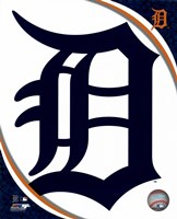 2016 Detroit Tigers Team Logo Fine Art Print
