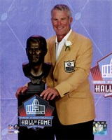 Brett Favre 2016 NFL Hall of Fame Induction Ceremony Fine Art Print