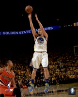 Klay Thompson 2016 NBA Playoff Action Fine Art Print