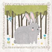 Woodland Hideaway Bunny Framed Print