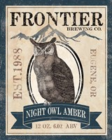 Frontier Brewing III Framed Print