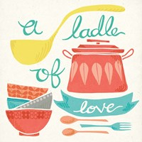 A Ladle of Love Framed Print