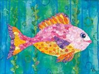 Polka Dot Fish Fine Art Print