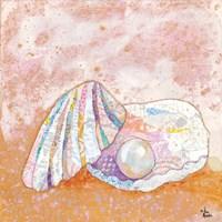 Pearl Seashell Fine Art Print