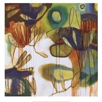 Tropical Burst I Framed Print