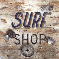 Surf Shop Framed Print