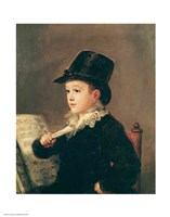 Portrait of Mariano Goya Fine Art Print