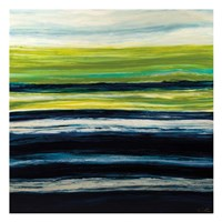 Emerald Horizon Fine Art Print