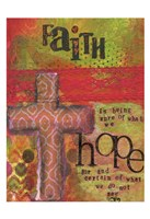 Faith And Hope Fine Art Print