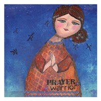 Prayer Warrior Fine Art Print