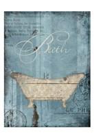 Bath Framed Print