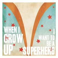 Superhero Power Mate Framed Print