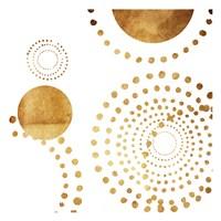 Golden Dots Fine Art Print