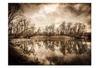 On the River 2 Framed Print