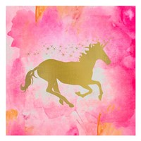 Unicorn Square 1 Fine Art Print