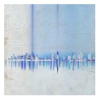 Miami in Blue Fine Art Print